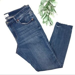 LOU & GREY | sz 31 medium wash skinny jeans